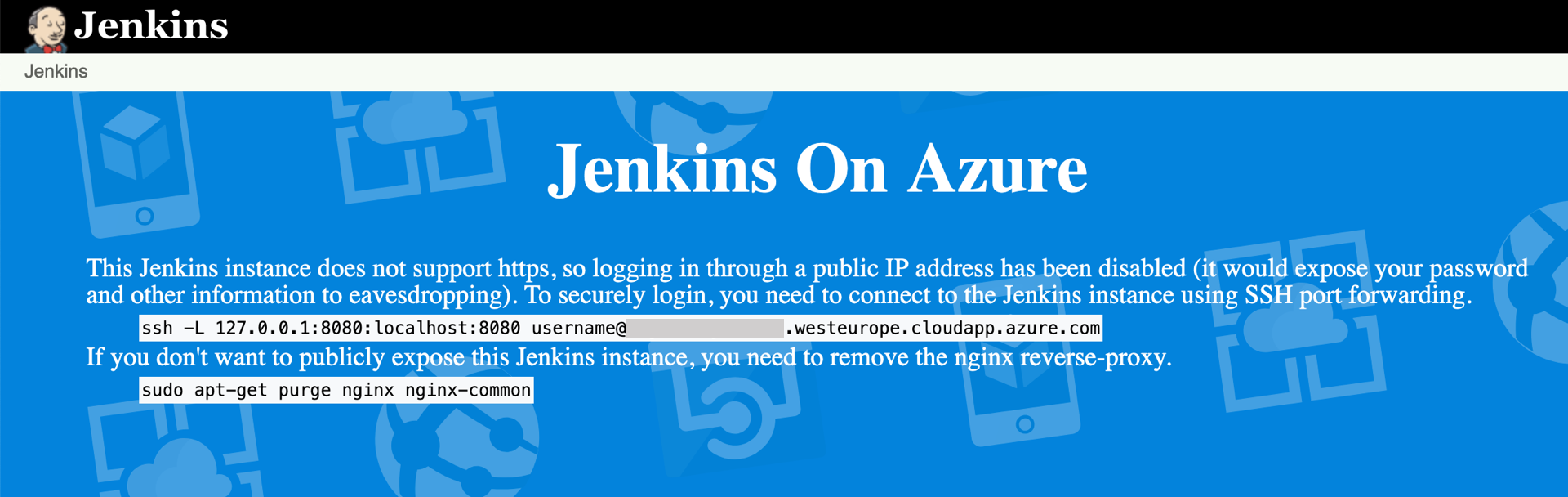 From GitHub to Azure App Service through Jenkins pipelines